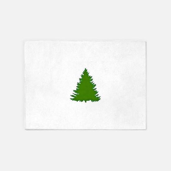 Pine Tree 5'x7'Area Rug
