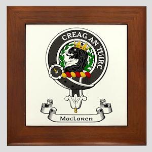 Badge - MacLaren Framed Tile