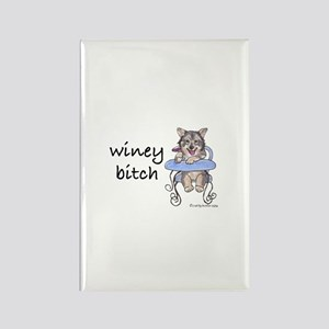 Swedish Vallhund Winey Bitch Rectangle Magnet