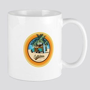 Woodie in California Mug