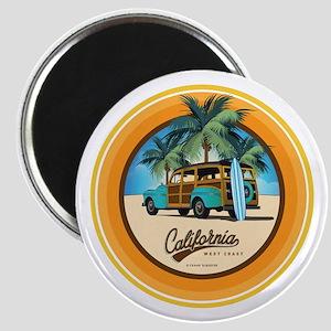 Woodie in California Magnet