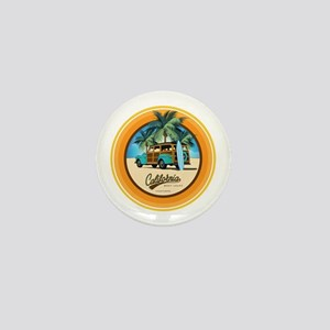 Woodie in California Mini Button (10 pack)