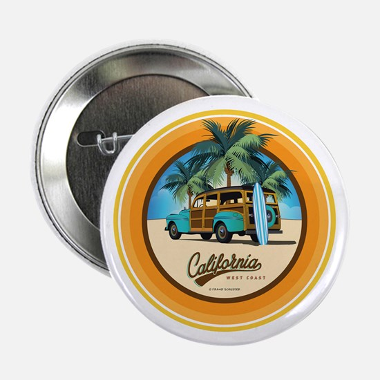 """Woodie in California 2.25"""" Button (10 pack)"""