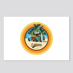 Woodie in California Postcards (Package of 8)