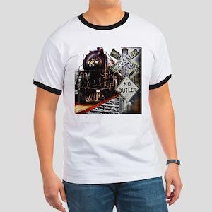 Train Collage T-Shirt