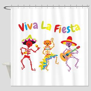 Viva La Fiesta! Shower Curtain