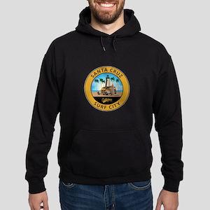 Santa Cruz Surf City Woodie Hoodie (dark)