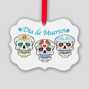 Sugar Skulls Ornament