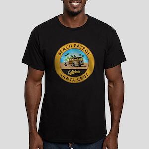 Santa Cruz Beach Patro Men's Fitted T-Shirt (dark)