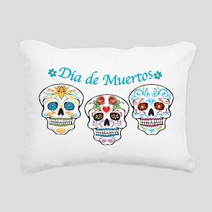 Sugar Skulls Rectangular Canvas Pillow