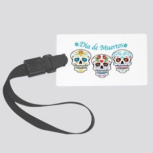 Sugar Skulls Luggage Tag