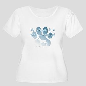 Dogo Argentino Granddog Women's Plus Size Scoop Ne