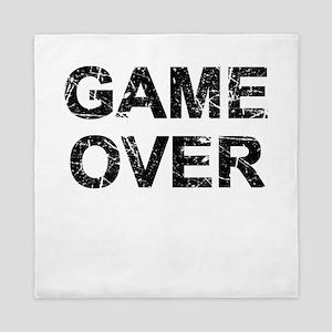Game Over Queen Duvet
