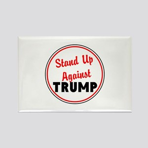 Stand up against Trump Magnets