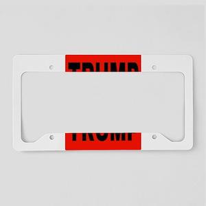 TRUMP TRUMP TRUMP License Plate Holder