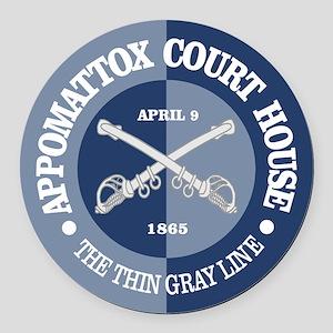Appomattox (B-G) Round Car Magnet