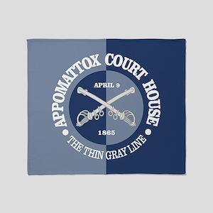 Appomattox (B-G) Throw Blanket