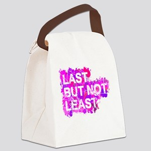 Last but not Least Canvas Lunch Bag