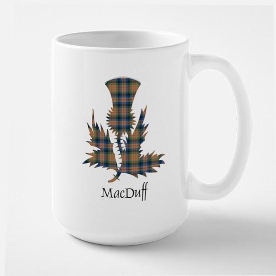 Thistle-MacDuff hunting Large Mug