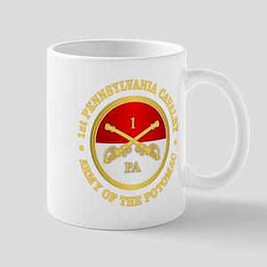 1st Pennsylvania Cavalry Mugs
