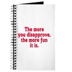 The more you disapprove, the Journal