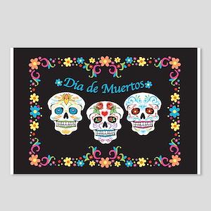 Sugar Skulls Postcards (Package of 8)