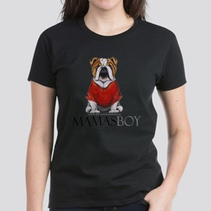 Mamas Boy Bulldog T-Shirt
