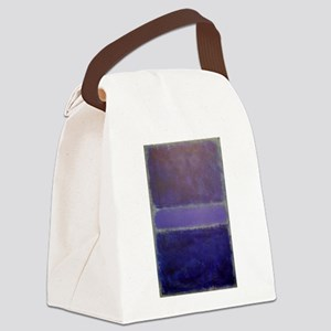 ROTHKO_Shades of Purples Canvas Lunch Bag