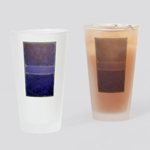 ROTHKO_Shades of Purples Drinking Glass