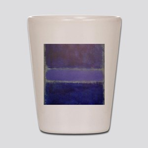 ROTHKO_Shades of Purples Shot Glass