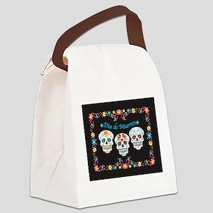 Sugar Skulls Canvas Lunch Bag