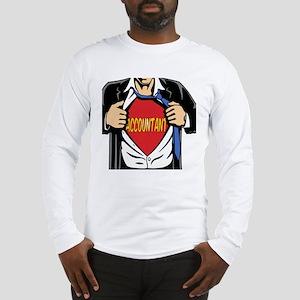 Super Accountant Long Sleeve T-Shirt