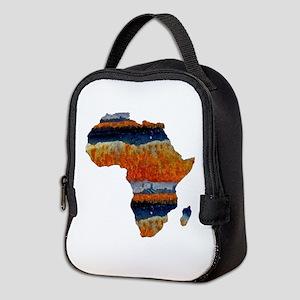 AFRICA Neoprene Lunch Bag