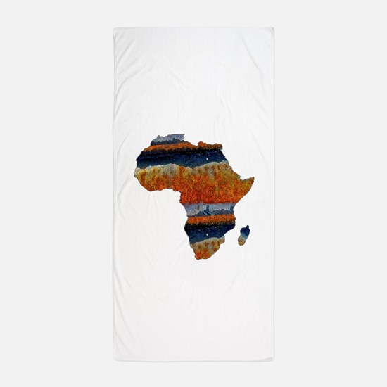 AFRICA Beach Towel
