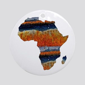 AFRICA Round Ornament