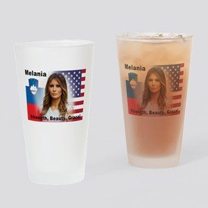 Melania Trump Drinking Glass