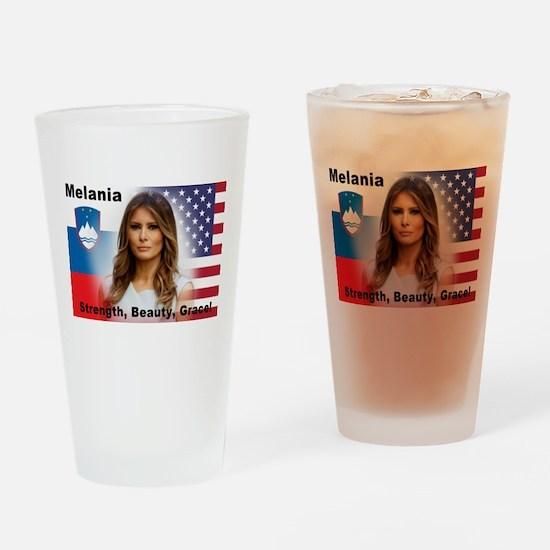 Melania Trump Drinking Glass
