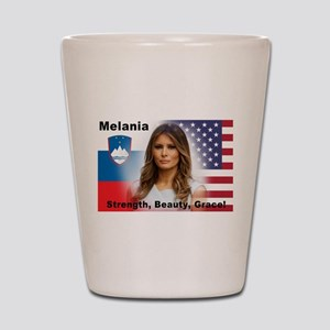 Melania Trump Shot Glass