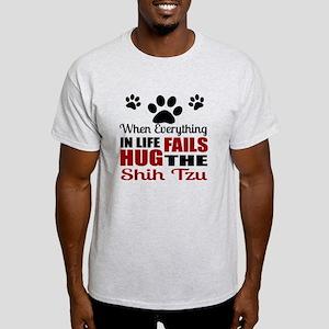 Hug The Shih Tzu Light T-Shirt