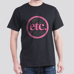Etc. - Etc - Pink Gray Black T-Shirt