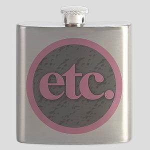 Etc. - Etc - Pink Gray Black Flask