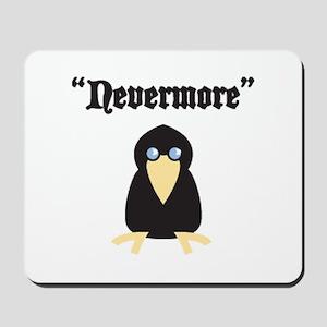Poe the Crow Mousepad