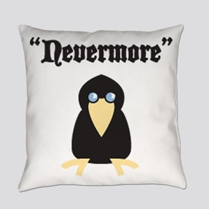Poe the Crow Everyday Pillow