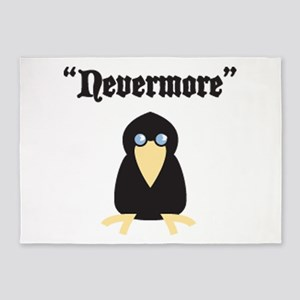 Poe the Crow 5'x7'Area Rug