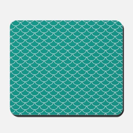 Blue Scales Mousepad