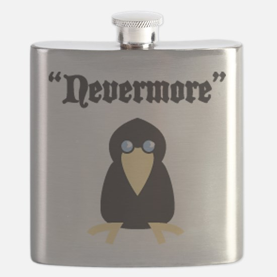 Poe the Crow Flask