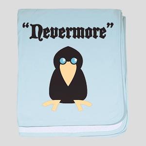 Poe the Crow baby blanket