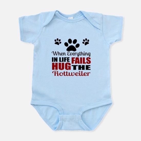 Hug The Rottweiler Infant Bodysuit