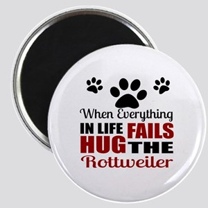 Hug The Rottweiler Magnet