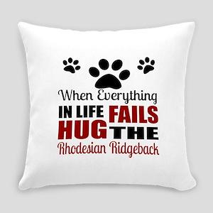 Hug The Rhodesian Ridgeback Everyday Pillow